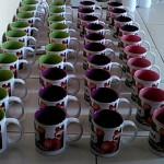 Mug Souvenir Ultah Masha & Bear