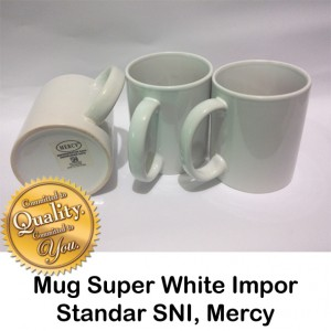 Mug Super white mercy