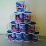 Mug Souvenir Ultah Frozen