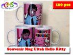 Mug souvenir Ulang Tahun Hello Kitty