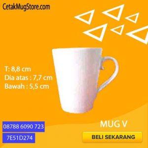 Souvenir Mug V Decal murah