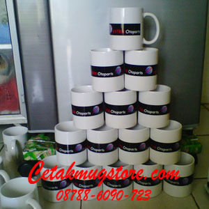Mug sablon Promosi 2