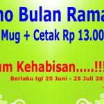 Promo Cetak Mug Bulan Ramadhan