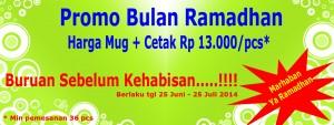 Promo bulan Ramadhan