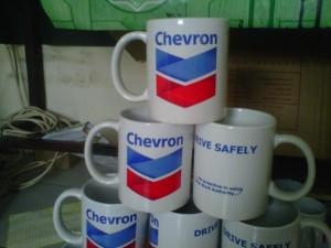 Mug Promosi Chevron