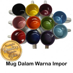Mug Dalam Warna