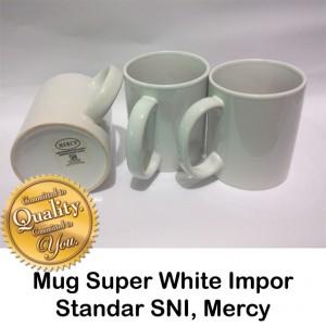 Mug Super white mercy