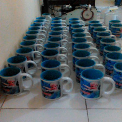 Mug Souvenir Mug Ultah Frozen 2