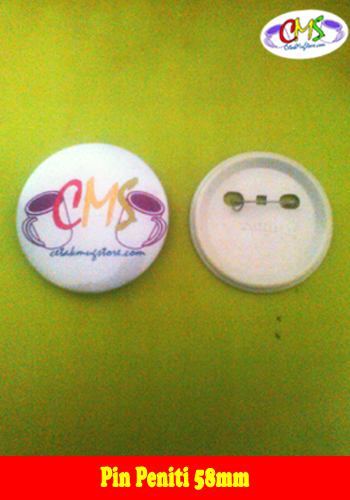 Cetak Pin Peniti 58 mm 3