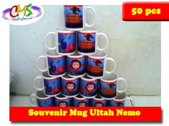 souvenir mug ultah nemo