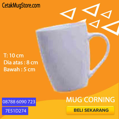 Souvenir Mug Corning decal
